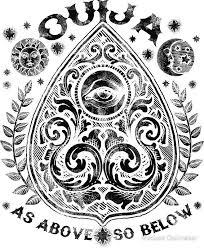 <b>Victorian OUIJA</b> Planchette | Ouija tattoo, Marquesan tattoos, Tarot ...
