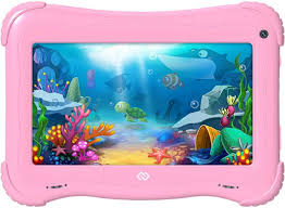 Детский <b>планшет DIGMA Optima</b> Kids 7, 1GB, 16GB розовый ...