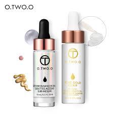 <b>O</b>.<b>TWO</b>.<b>O</b> 2PCS/SET Face Makeup Set (Liquid Highlighter+<b>24k</b> ...