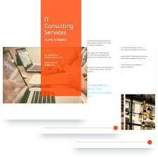 it services proposal template sample it services proposal template