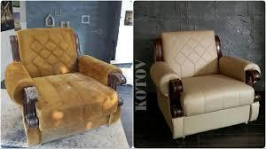Ремонт мебели своими руками. Реставрация кресел. - YouTube