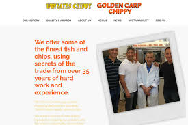 Welcome To <b>Golden Carp</b> Chippy : Theo Ellinas