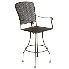 antique dark brown wrought iron black iron outdoor furniture