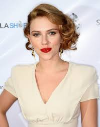hollywood glamour: old hollywood glamour hairstyles trying her hand old hollywood glamour scarlett opted