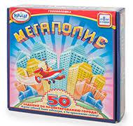 Настольная игра-<b>головоломка Мегаполис</b> - купить в Москве и ...