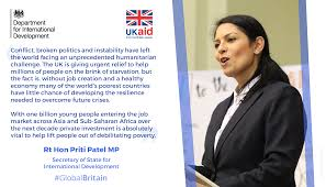department for international development dfid linkedin international companies is desperately needed to create jobs and build basic infrastructure such as roads and ports in the world s poorest countries