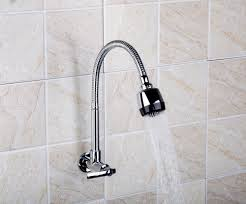 wall mounted kitchen sink faucets