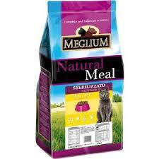 <b>Сухой корм MEGLIUM Natural</b> Meal Cat Adult Neuterd Chicken ...