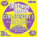 Party Tyme Karaoke: Girl Country, Vol. 5