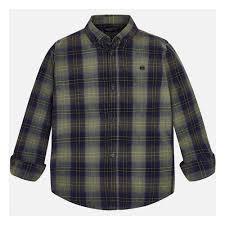 <b>Рубашка MAYORAL</b> 7138/46 для мальчика, цвет хаки, рост 140 ...