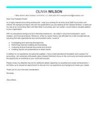 best staff accountant cover letter examples   livecareermore staff accountant cover letter examples