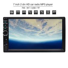 Car Player Mp5 Touch Screen Radio <b>Bluetooth</b> Stereo 7inch Din Fm ...