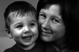 Meine Schwester Barbara und ihr Sohn Lukas, mein Patenkind Quelle: Eigenes Bild Urheber: Martin Dunst - 700-barbara-lukas