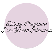 disney cultural exchange program pre screen interview disney cultural exchange program pre screen interview
