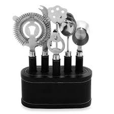 Metrokane VIP <b>7</b>-<b>Piece Bar</b> Tool Set - BedBathandBeyond.com | Bar ...