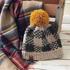 The Flannel Forrest Beanie PDF DIGITAL DOWNLOAD Crochet ...