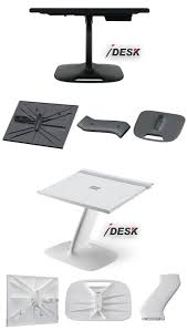 portable laptop stand table lap desk in white black lapdesk for macbook business travel home office black home office laptop desk