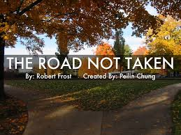 robert frost the road not taken comparison essay   essay topicsessay outline for the road not taken image