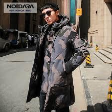 2019 <b>NO</b>.<b>1 DARA</b> Camouflage Winter Down Jacket Coats Men 2018 ...