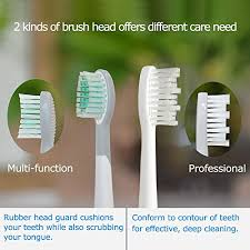 Mornwell <b>3pcs Replacement Toothbrush</b> Hea- Buy Online in ...