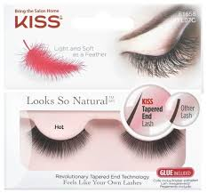 Kiss <b>накладные ресницы Looks so</b> Natural Hot — Ресницы и клей ...