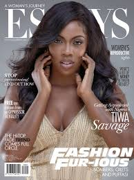 tiwa savage covers essays of africa magazines july  issue