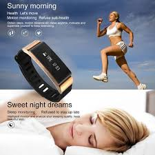 <b>W6 Smart Bracelet</b> Bluetooth 4.0 Pedometer Tracking Calorie Health ...