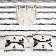 <b>Bohemian style</b> removable wallpaper with dotted lines | Livettes