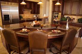 ideas unique curved kitchen island benches immense island dominates this space with dark wood paneling and two ti