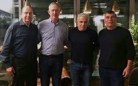 After marathon talks Gantz, Lapid forge alliance in challenge to ...