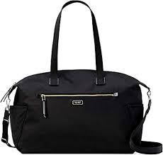 Kate Spade <b>New</b> York Weekender <b>Travel Bag</b> Dawn Black <b>Nylon</b>