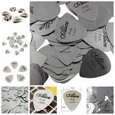 <b>Metal Guitar</b> Pick 0.3mm <b>Thin</b> for Both Starters | Shopee Philippines