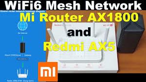 Xiaomi Mesh Network Setup <b>of Mi</b> AX1800 and Redmi <b>AX5</b> Wi-Fi 6 ...