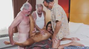 Old and young foursome with two cock hungry cuties Shameless