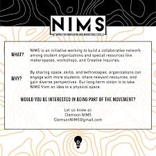 nims networking reception tickets thu mar at pm an organization attempting to connect clemson resources and students