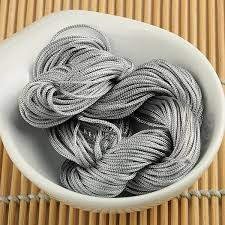2019 <b>WITUSE 11.11 Promotion Sale</b> 1mm Gray Macrame Rattail ...