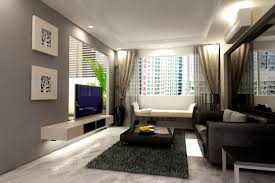 scenic small space design ideas living room apartments furniture with black leather sofa and black square appealing small space living