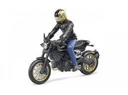 Набор <b>Bruder</b>, <b>Мотоцикл Scrambler Ducati</b> Cafe Racer с ...