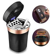Solarxia <b>Car Ashtray</b>, <b>Auto Ashtray</b> Cigar Electronic Cigarette Lighter ...