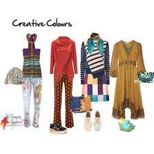 Colour <b>Personality</b> - 4. Eclectic - <b>Creative</b> - Inside Out <b>Style</b>