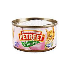 <b>Консервы</b> для кошек <b>Petreet Natura Кусочки</b> розового тунца ...