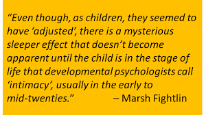 how divorce can have a positive effect on kids   support for stepdads a quote for marsh fightlin on divorce