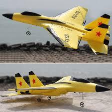 <b>SU 35</b> Simulation 2.4GHz RC Airplane Rechargeable EPP Foam ...