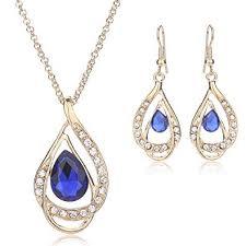 MOOCHI Women <b>Fashion</b> Gold Plated <b>Hollow Water</b> Drop Jewelry ...