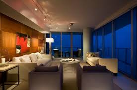 furniture elegant apartment living room with awesome track apartment lighting ideas