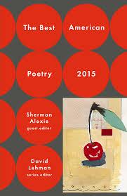 best american poetry book by david lehman edward hirsch the best american poetry 2015