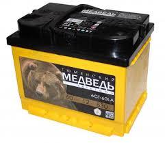 Аккумулятор <b>Тюменский Медведь</b> 60 А.ч Обратная полярность