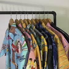 Man Shirt 20SS retro <b>zebra</b> pattern loose oversize male couple shirt ...