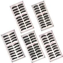 New Long <b>5 Pairs</b> Makeup