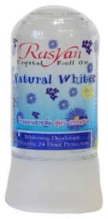 Купить <b>дезодорант</b>-<b>ролик rasyan crystal roll-on</b> natural white 80г ...